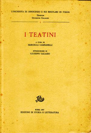 copertina di I Teatini