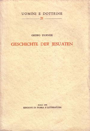copertina di Geschichte der Jesuaten