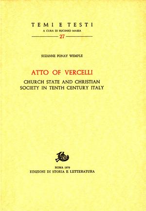 copertina di Atto of Vercelli