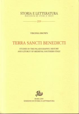copertina di Terra sancti Benedicti