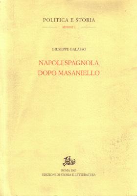 copertina di Napoli spagnola dopo Masaniello