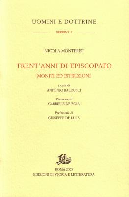 copertina di Trent'anni di episcopato