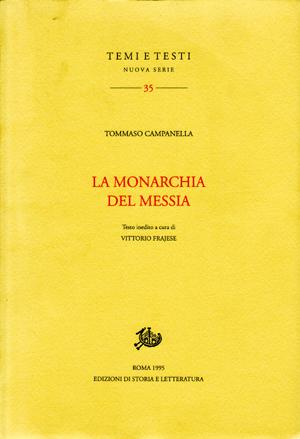 copertina di La Monarchia del Messia