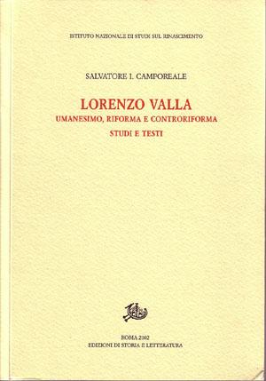 copertina di Lorenzo Valla