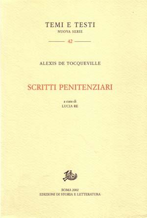 copertina di Scritti penitenziari