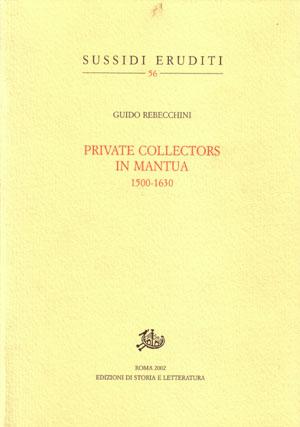 copertina di Private Collectors in Mantua