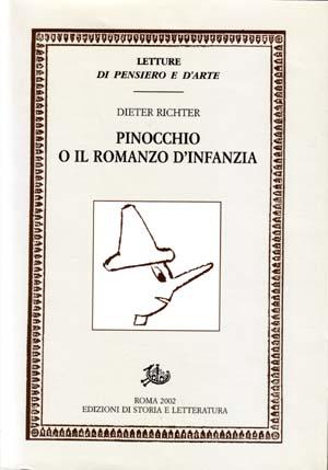 copertina di Pinocchio o il romanzo d'infanzia