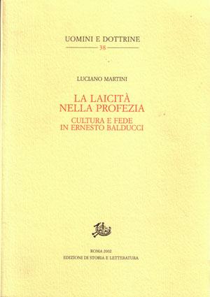 copertina di La laicità nella profezia