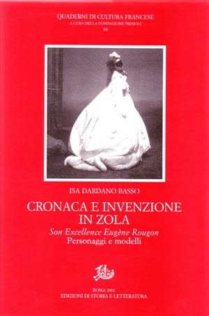 copertina di Cronaca e invenzione in Zola