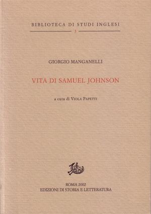 copertina di Vita di Samuel Johnson