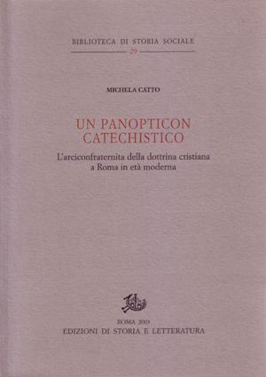 copertina di Un panopticon catechistico