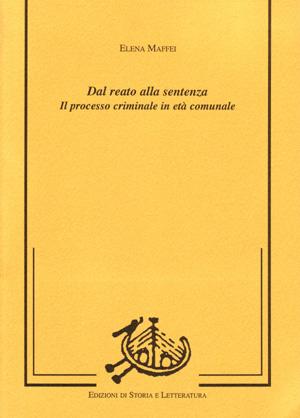copertina di Dal reato alla sentenza