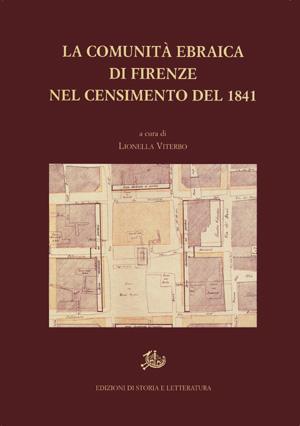 copertina di La comunità ebraica di Firenze nel censimento del 1841