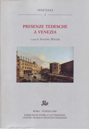 copertina di Presenze tedesche a Venezia