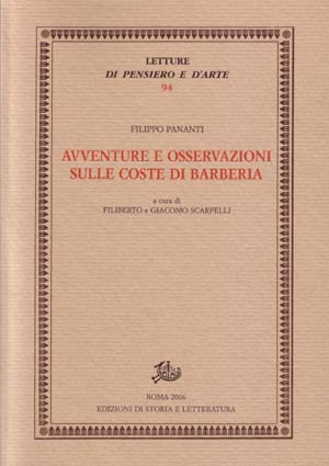 copertina di Avventure e osservazioni sulle coste di Barberia