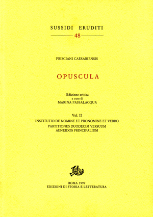 copertina di Opuscula. II