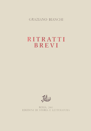 copertina di Ritratti brevi