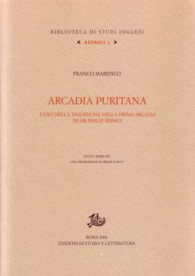 copertina di Arcadia puritana