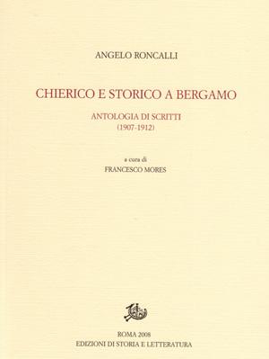 copertina di Chierico e storico a Bergamo