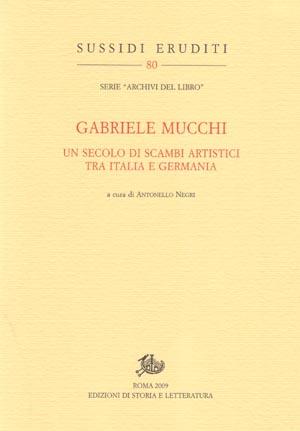 copertina di Gabriele Mucchi