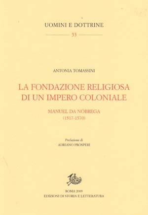 copertina di La fondazione religiosa di un impero coloniale