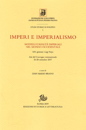 copertina di Imperi e imperialismo