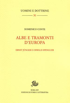 copertina di Albe e tramonti d'Europa