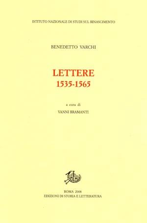 copertina di Lettere 1535-1565