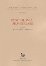 copertina di Postcolonial Shakespeare