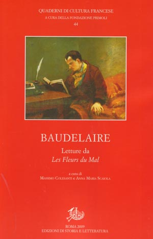 copertina di Baudelaire