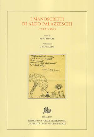 copertina di I manoscritti di Aldo Palazzeschi