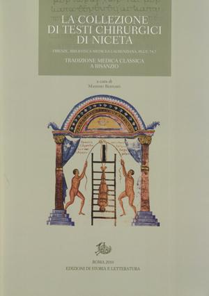 copertina di La collezione di testi chirurgici di Niceta