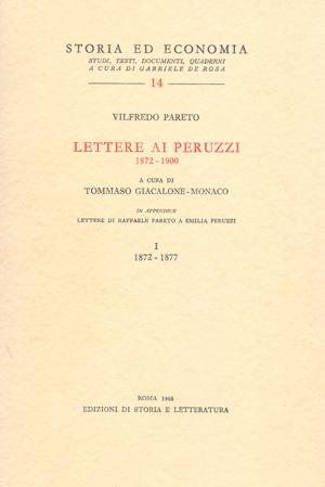 copertina di Lettere ai Peruzzi (1872-1900)