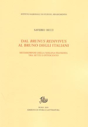 copertina di Dal Brunus redivivus al Bruno degli italiani