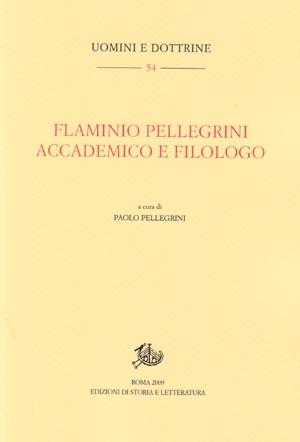 copertina di Flaminio Pellegrini
