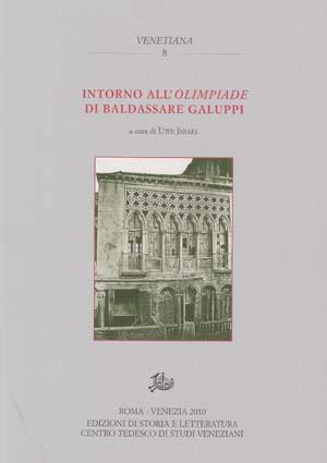copertina di Intorno all'Olimpiade di Baldassare Galuppi