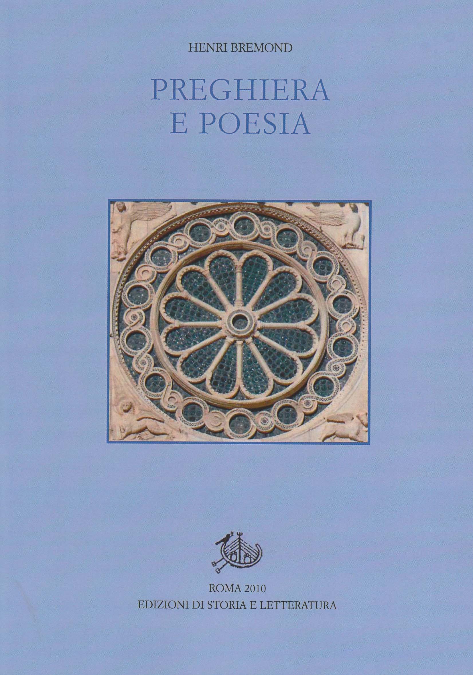 copertina di Preghiera e poesia