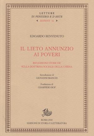 copertina di Il lieto annunzio ai poveri.