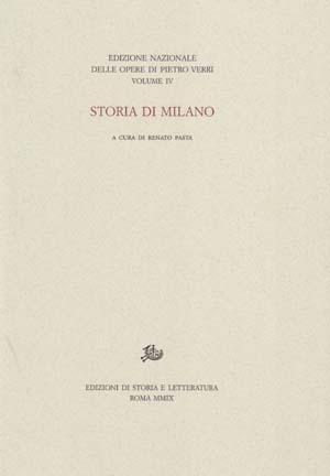 copertina di Storia di Milano