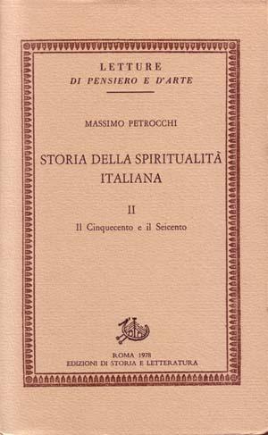 copertina di Storia della spiritualità italiana II