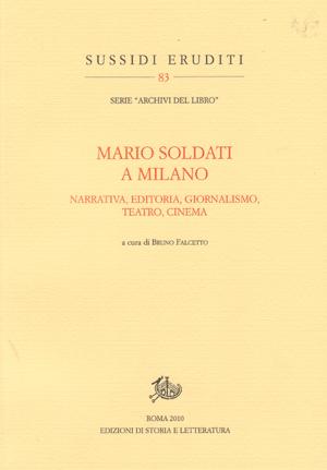 copertina di Mario Soldati a Milano
