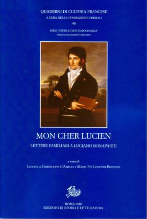 copertina di Mon cher Lucien