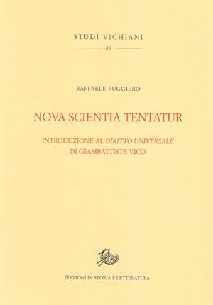 copertina di Nova scientia tentatur
