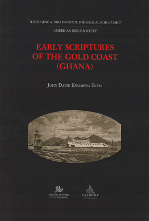 copertina di Early Scriptures of the Gold Coast