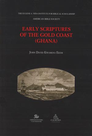 copertina di Early Scriptures of the Gold Coast