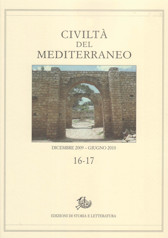 copertina di Civiltà del Mediterraneo, 16-17