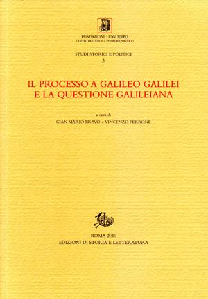 copertina di Il processo a Galileo Galilei e la questione galileiana