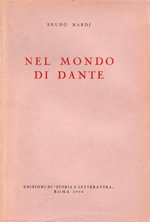 copertina di Nel mondo di Dante