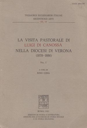 copertina di La visita pastorale di Luigi di Canossa nella diocesi di Verona (1878-1886)