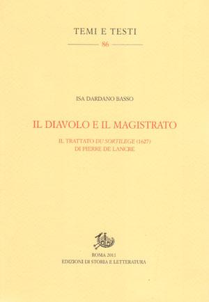 copertina di Il diavolo e il magistrato